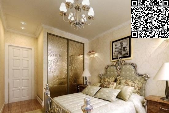 床尾具有欧洲皇室风格的造型就想到了整体卧室是欧式图片