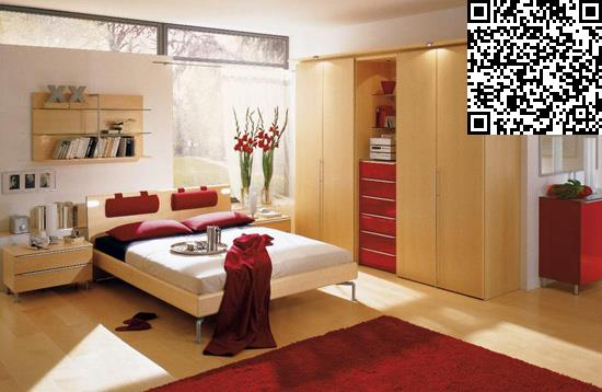 卧室衣柜装修效果图     设计重点:床头背景墙收纳     编辑点
