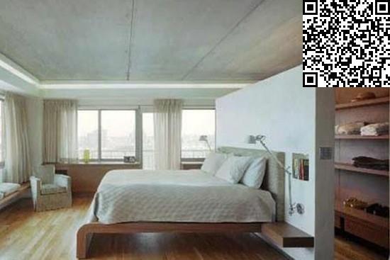效果图大全2014图片     白色与木色交融的卧室,充满了明朗淡雅的北欧图片