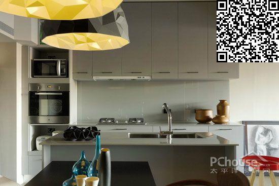 欧式厨房吊柜设计效果图