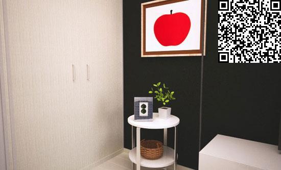 黑白装饰 巧收纳 日本单身白领出租房