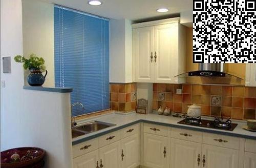8款小方格墙壁 厨房装修效果图