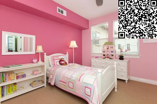 粉色风潮来袭 8款萌萌哒公主房设计