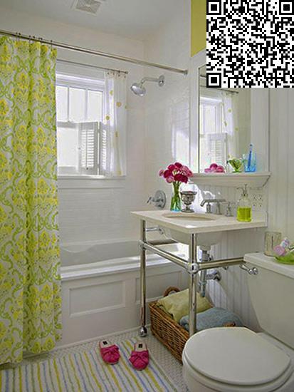 小户型洗手间 洗手台 马桶 浴室