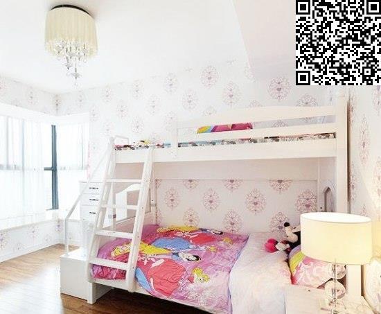 儿童房高低床装修话题精选