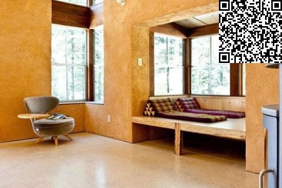 实木地台装修效果图     在居室适当位置设置实木地台,可降低室内图片