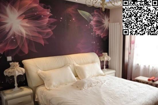 中式背景墙纸大型壁画图赏图片