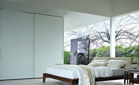 独立衣帽间设计 各种卧室衣柜方案
