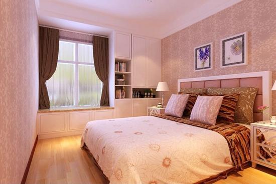 室内装饰 16款带飘窗的卧室设计