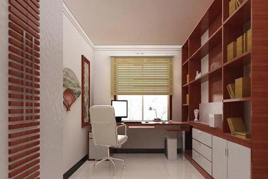 书房装修设计搭配指南之墙面颜色