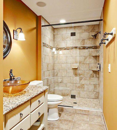 小户型卫浴间装修必看 干净完美的小卫浴