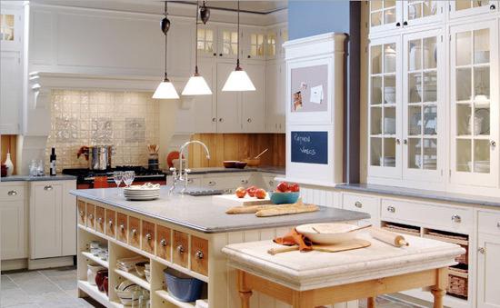 厨房装修知识 8款提升性能中岛柜图片