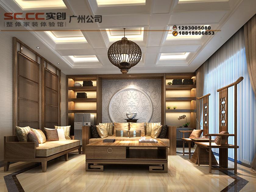 420㎡新中式奢华别墅,简直美爆了!图片