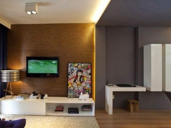 室内装饰新意 10个电视背景墙设计巧思