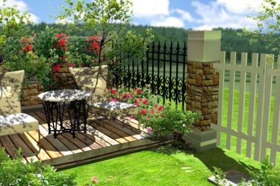 室外花园设计 感受大自然的魅力