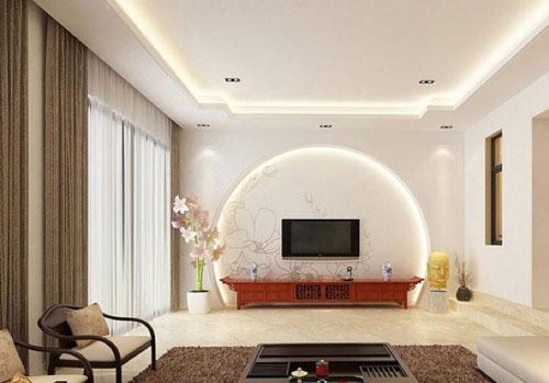 背景墙设计     case5:中式风格的电视