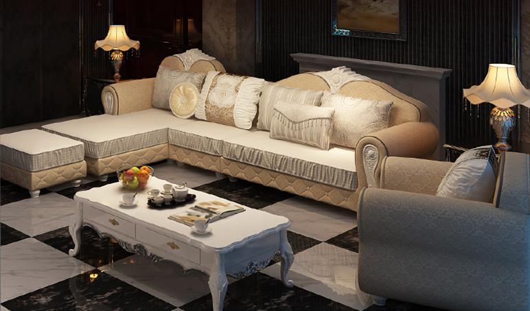 欧式布艺沙发哪个牌子好 欧式布艺沙发图片图片