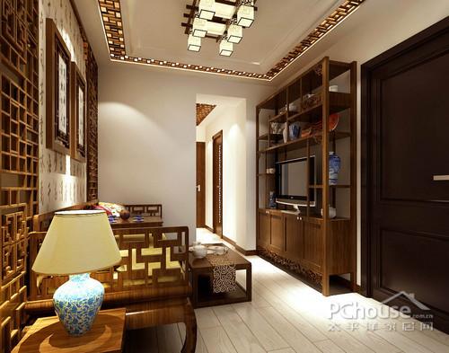 风格定位:新中式     房主情况:中年夫妇,儿子上幼儿园     设计