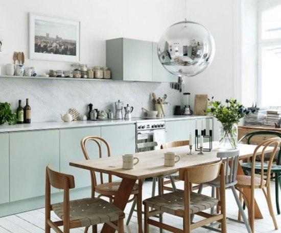 餐厅也可以轻轻松松的占据掉厨房一角.图片