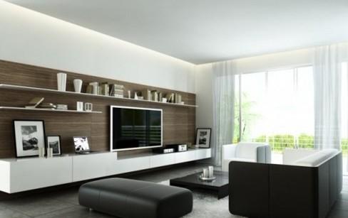 客厅装饰 6款最新电视背景墙功能设计