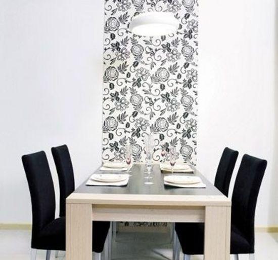 中式黑白花纹贴图