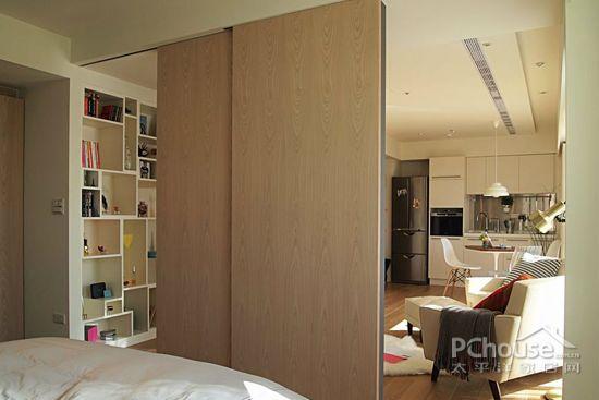复古北欧风单身公寓装修推荐图片