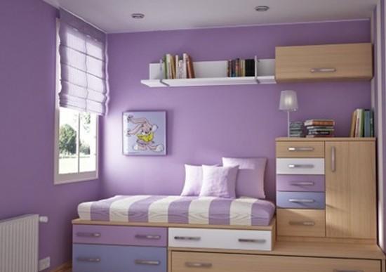 卧室书房一体化 80后的创新生活理念图片
