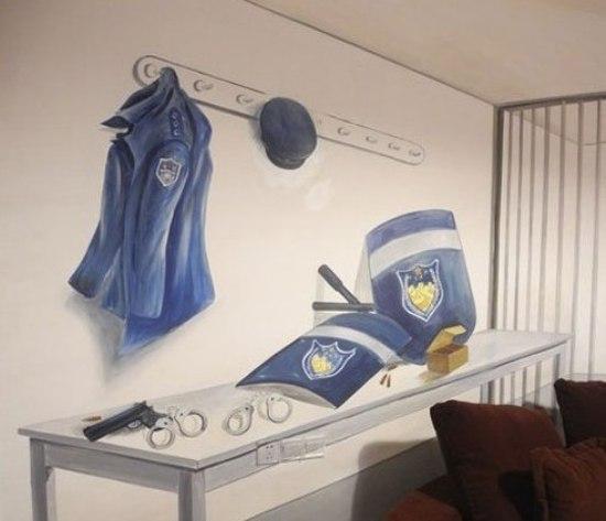 手绘背景墙 10款室内墙体彩绘