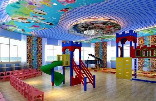 幼儿园精彩装修