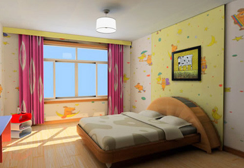 儿童学画画卧室