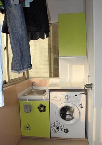 自制洗衣机柜步骤