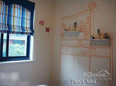 墙上画画简单图案