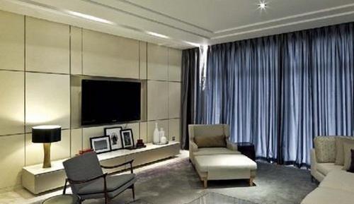 欧式客厅电视背景墙 精品家装的典范