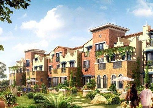 万通天竺新新家园     万通天竺新新家园项目b区南联排别墅