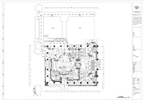 餐饮空间手绘平面图 餐厅设计新途径