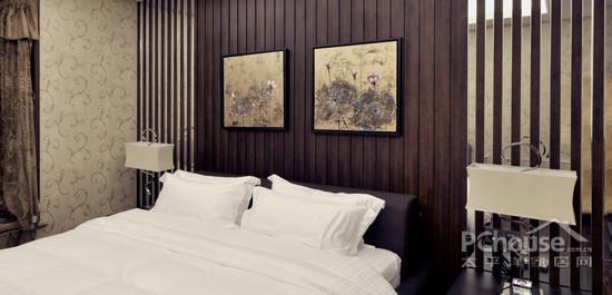 背景墙 房间 家居 酒店 设计 卧室 卧室装修 现代 装修 550_265图片