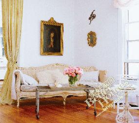 欧式古典风格 10万打造96平简约田园家图片