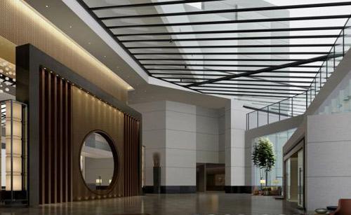 苏州独墅湖酒店-梁晖设计作品绘制圆弧图形图片