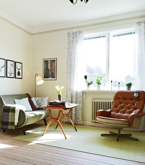 40平单身公寓装修 我的森系家居