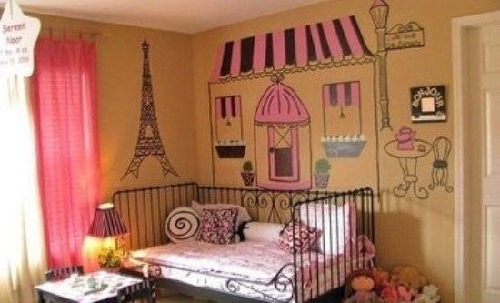 可爱房间背景图片