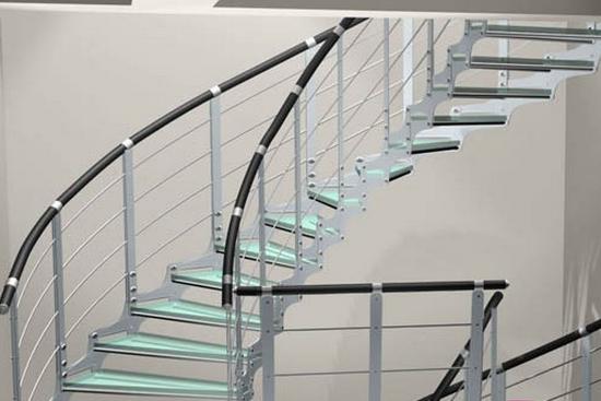 不锈钢楼梯扶手设计推荐