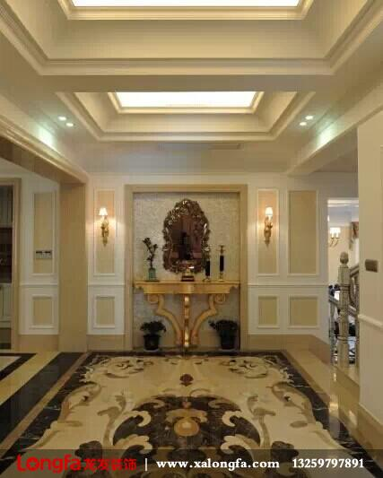 【龙发装饰】现代欧式风格室内设计案例赏析
