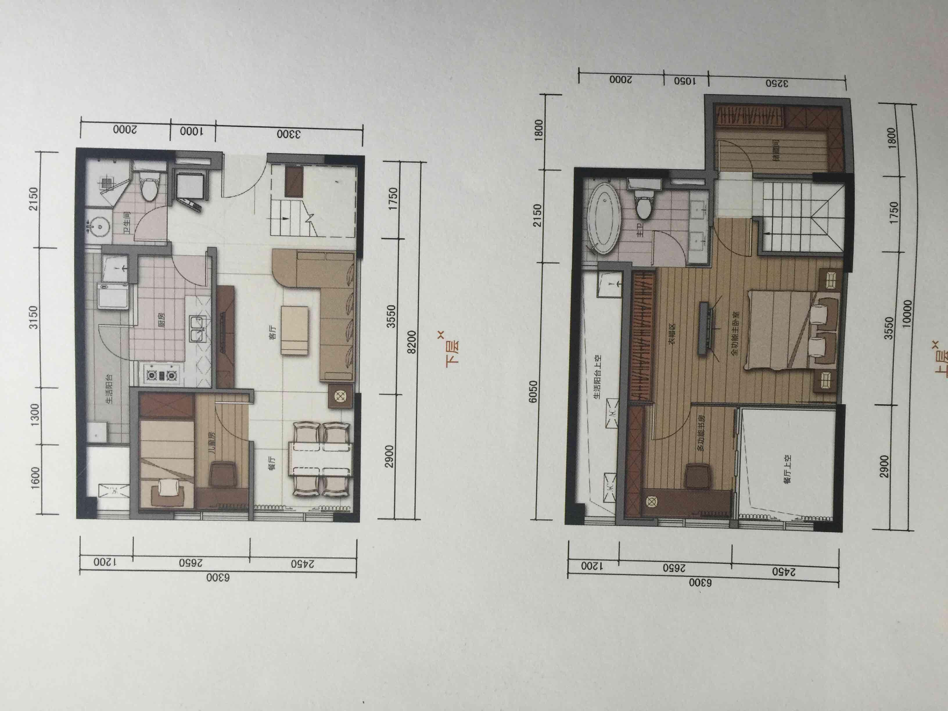 90平方 别墅设计图纸展示