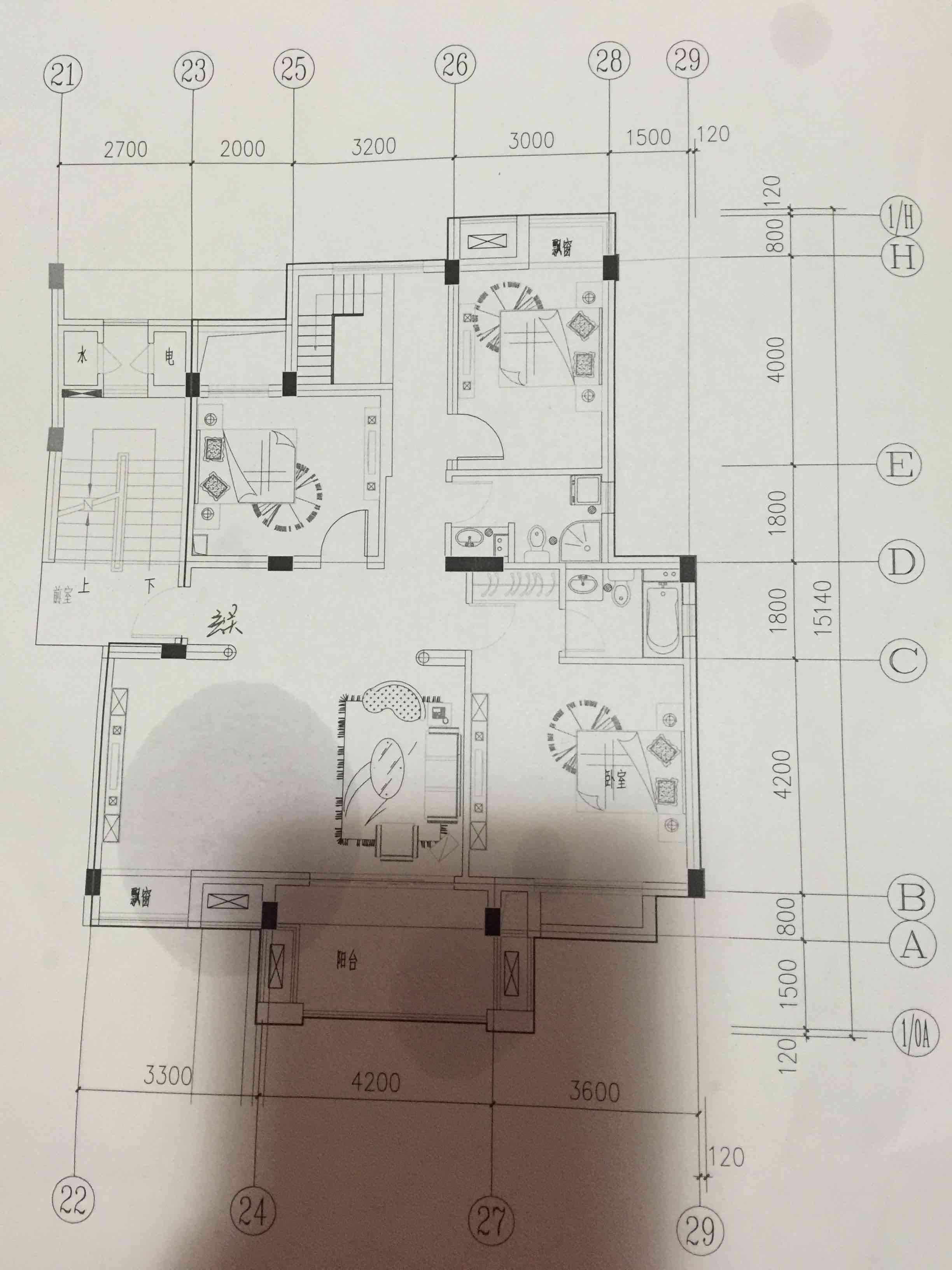请帮我看下房子这样设计是否合理,主要是楼梯口设置是否合理.