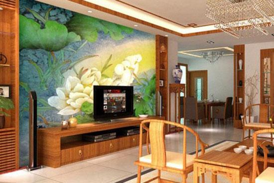 中式客厅最新装修效果图图片