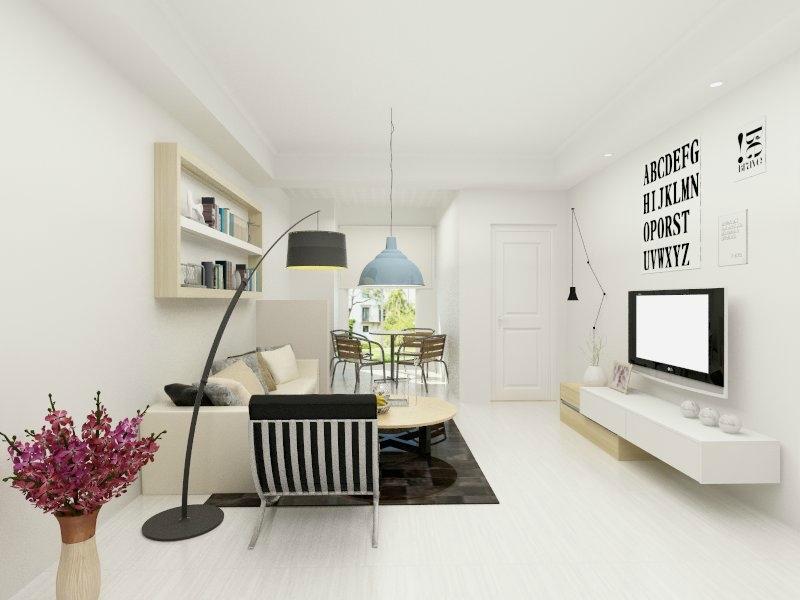 第三步:其他空间效果图 主卧效果图 次卧效果图: 厨房效果图: 卫生间图片