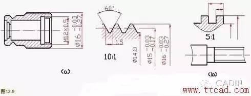 室内装修软件cad教你画螺纹