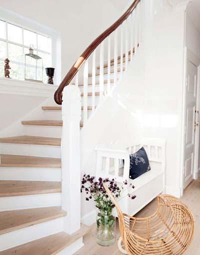 最后,关于楼梯木地板铺设的损耗率问题,小编也有话要说,地板铺装自然