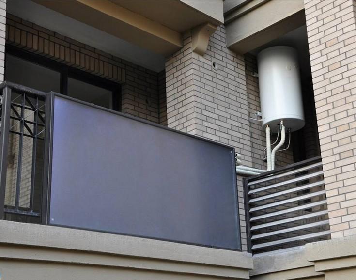 维修便利 阳台壁挂式太阳能热水器