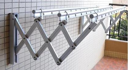 阳台晾衣架效果图